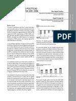 Una Mirada a La Politica Fiscal y Monetaria Del 2001 2006
