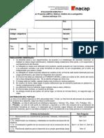 Pauta y Rubrica Evaluación 1
