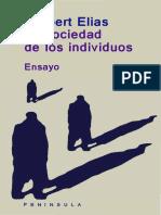 17 51 Norbert Elias La Sociedad de Los Individuos 1 84
