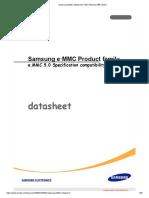 Samsung EMMC Datasheet _ Flash Memory (466 Views)