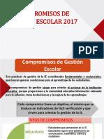 Compromisos de Gestión Escolar 2017