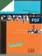 Campus - 1 Methode de Francais Reduzido