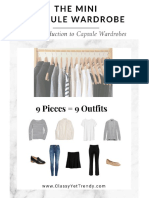 The Mini Capsule Wardrobe an Introduction to Capsule Wardrobes v2