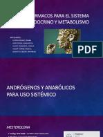 Fármacos Para El Sistema Endocrino y Metabolismo