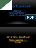 Medidas Ergonométricas y Diseño de Madera