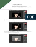 Membuat Typography Wajah Dengan Photoshop