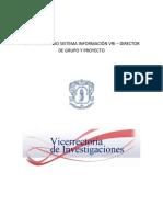 Manual en Vicerrectoria Investigaciones de Unicauca
