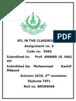 EFL II in classroom.doc