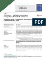 Bifosfonatos e Implantes Dentales, ¿Son Incompatibles_ Revisión de La Literatura
