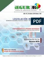 185 Revista SEGURIIAR Octubre 2018