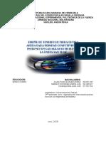 Proyecto de Fibra Optica via Aerea