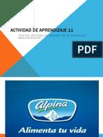 Actividad de Aprendizaje 11.1 Alpina