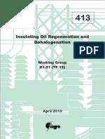 Transformer Insulation oil reclamation