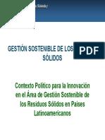 Gestion Sostenible de Residuos Solidos