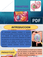 Diapositiva de Parasitosis