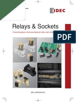 IDEC RR3PA-UL Relay AC24V 50//60Hz white 2