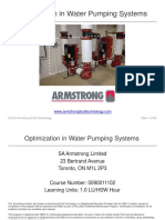Optimizing HVAC Water Pumping Systems