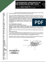 Denuncia de Federacion de pescadores atesanales contra Letona ante Etica