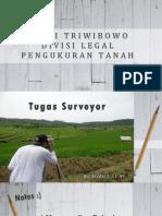 Tugas Surveyor