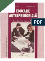 350325800 Educatie Antreprenoriala Cl a X a PDF