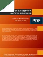 Tipos de Arranque de Motores Asíncronos