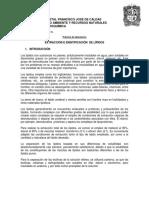 Guía laboratorio de Bioquímica No. 3 Identificación de lípidos