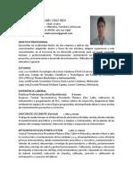DANIEL CRUZ RÃ_OS FINAL CV