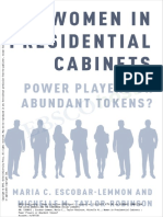 Women in Presidential Cabinets 1
