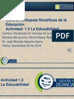 Actividad 1.3 Educabilidad