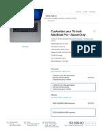 15-Inch MacBookPro- Space Gray - Apple