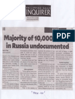 Philippine Daily Inquirer, June 10, 2019, Majority of 10,000 Pinoys in Rissia undocumented.pdf