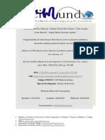 Comportamiento de Infección Por Helicobacter Pylorien Pacientes Pediátricos Detectados Mediante Prueba de Aliento Con Urea 2019