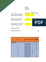 RentCalculation Sheet