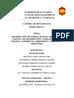 Distribución de Fármacos en El Organismo Grupo #3