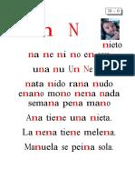 Metodo de Lectoescritura Letra n (1)