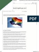 La verdadera Marcha del Orgullo Gay en el DF