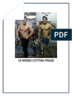 10 Weeks Cutting Phase