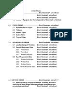 senarai kandungan (kajian tindakan)