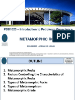 [5] PDB 1023 - Metamorphic Rocks