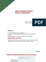 Análisis Estadístico Minero I