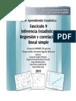 Regresion y Correlacion Lineal Simple