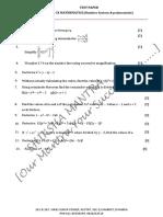 09 Mathematics Polynomials Test 02[NON-NCERT
