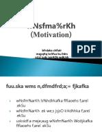 Motivation and Emotions Anu