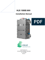 HLR 1000E-M Installation Version 1
