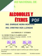 Alcoholes quimica organica
