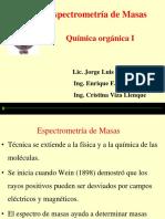 Espectroscopia de masa