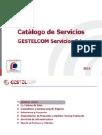 CatalogoServicios GESTELCOM 2013