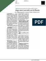 L'Ateneo stringe nuovi accordi con la Russia - Il Resto del Carlino del 9 giugno 2019