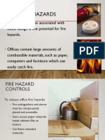 Fire Hazards