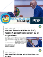 DSG Online Newsletter. Sunday June 9th 2019 #3